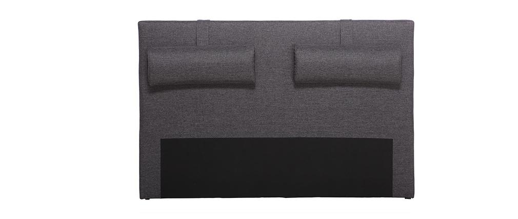 Testata da letto 150cm grigio scuro LORRY (per letto140)