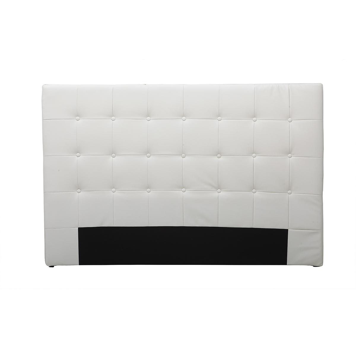 Testata da letto design bianco antico 160cm LUTECE