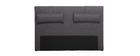 Testiera del letto 170cm grigio scuro LORRY (per letto160)