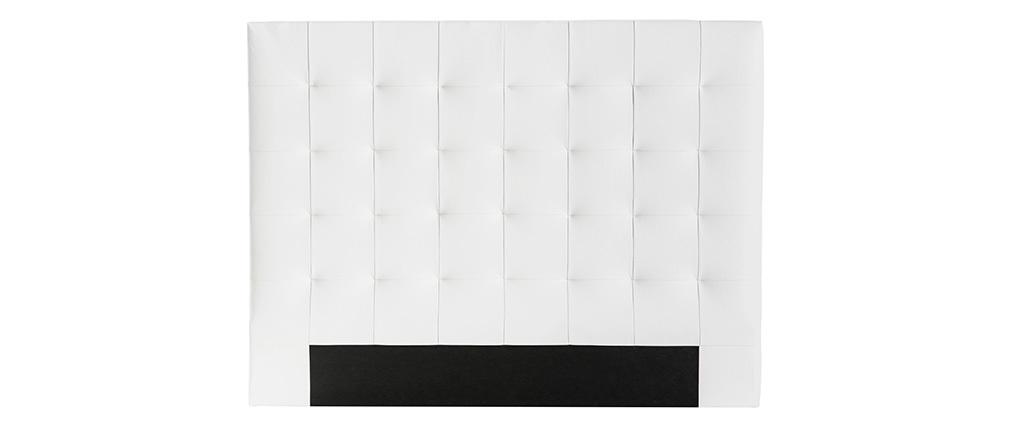 Testiera del letto imbottita naturale 160 cm HALCIONA