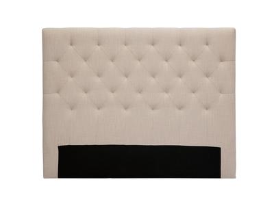 Testiera del letto in tessuto naturale, dimensioni: 140cm, modello: ENGUERRAND