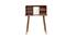 Toeletta trucco  vintage legno noce HALLEN